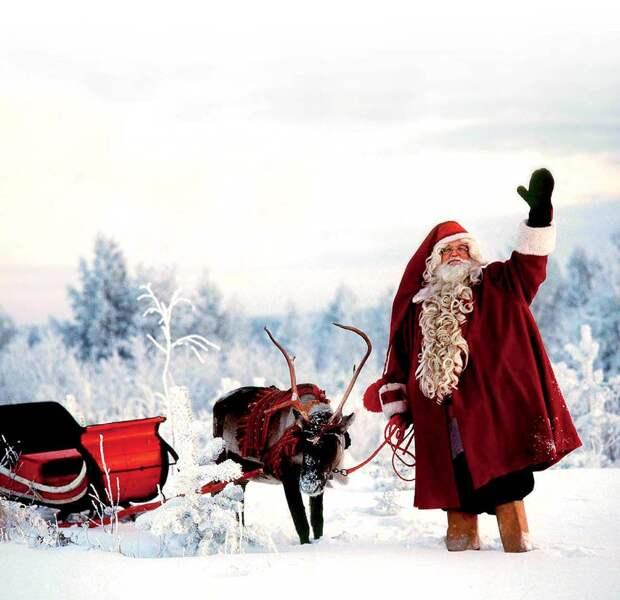 Чем отличается финский Йоулупукки от Деда Мороза
