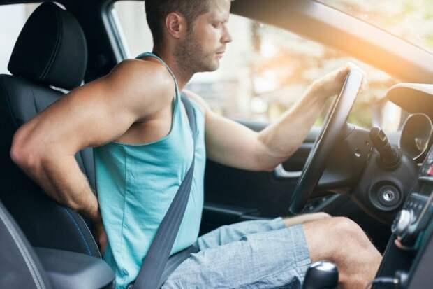 Нейрохирург дал автомобилистам советы по профилактике болей в спине