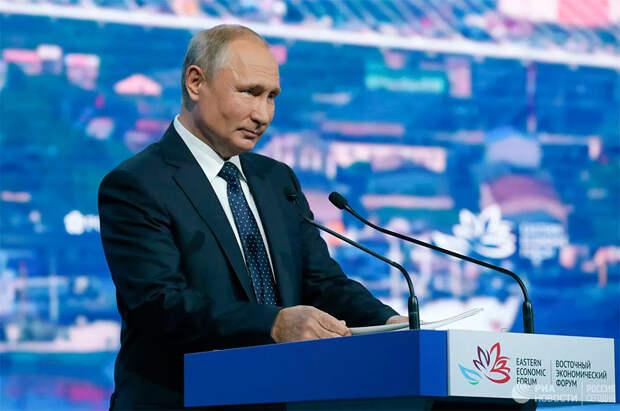 Фирменный троллинг Путина