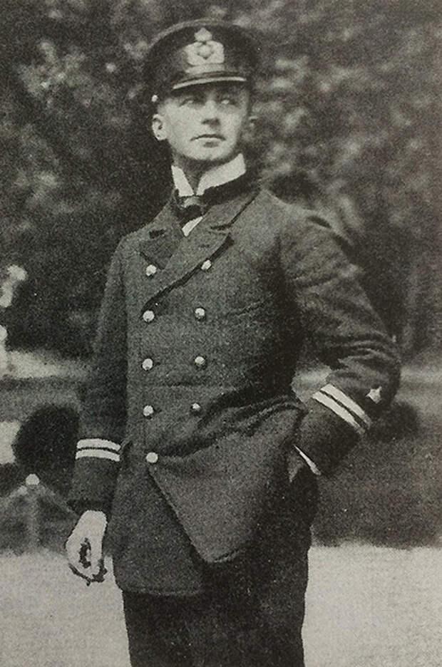 Командир цеппелинов L-13 и L-31 Генрих Мати