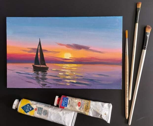 В Твери пройдет мастер-класс по масляной живописи