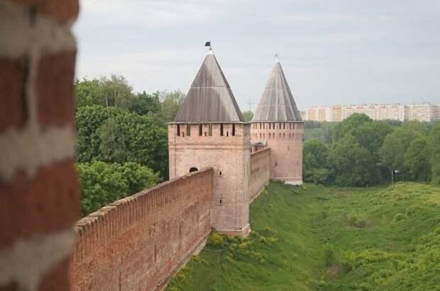 Место обвала на крепостной стене в Смоленске укрепят