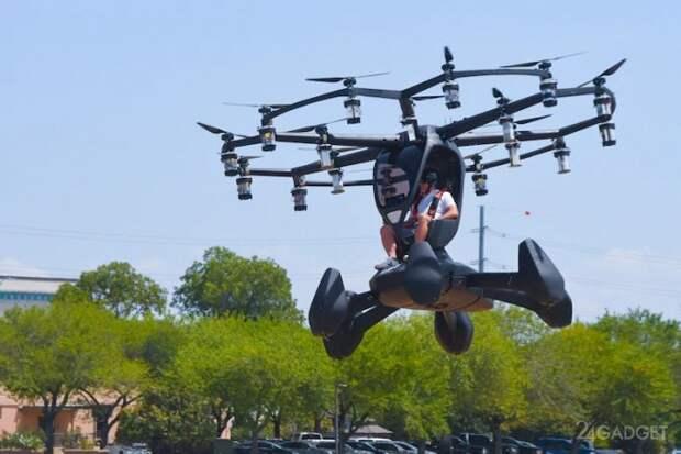Первые испытания летающего автомобиля американской армии