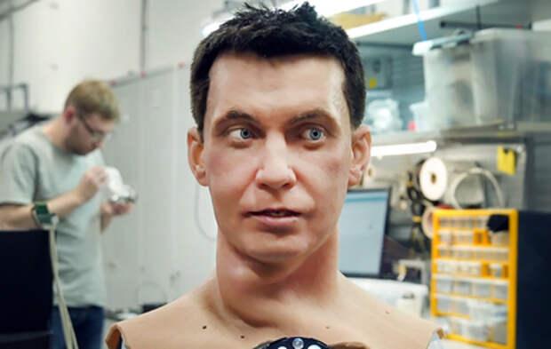 Как у людей: во Владивостоке разрабатывают кожу и волосы для роботов