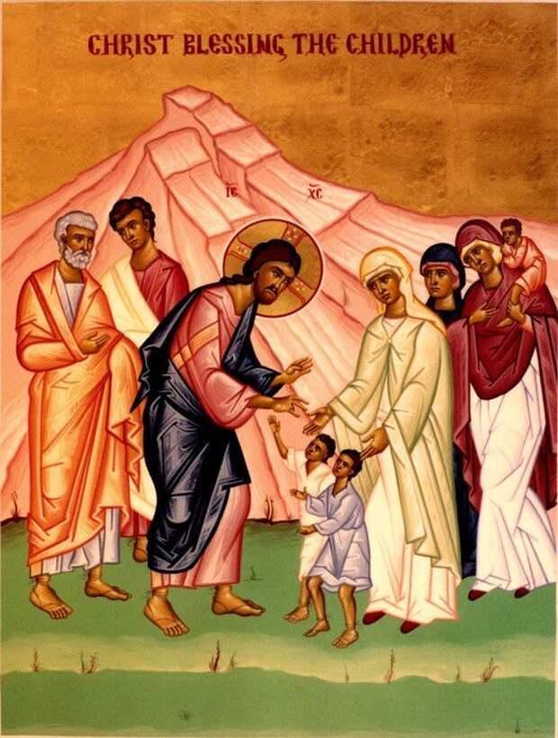 Икона «Благословение детей» в чем помогает?