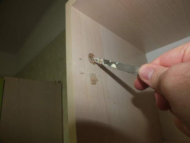 Как я ремонтирую вырванные с корнем петли своими руками