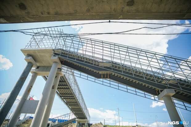 На станцию метро «Спортивная» привезли швейцарские эскалаторы. 8 фото с продвигающейся стройки