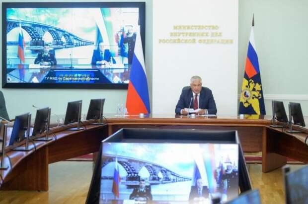 Колокольцев представил нового начальника ГУ МВД по Саратовской области