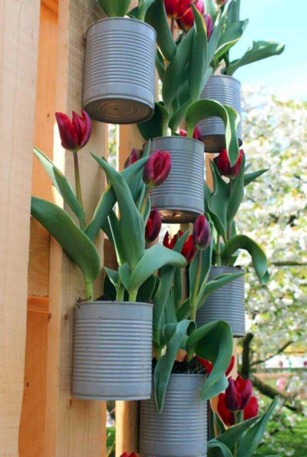 Маленькие подвесные горшочки. | Фото: Futurist Architecture.