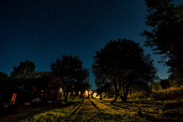 Оно приходит ночью. Деревенская байка.