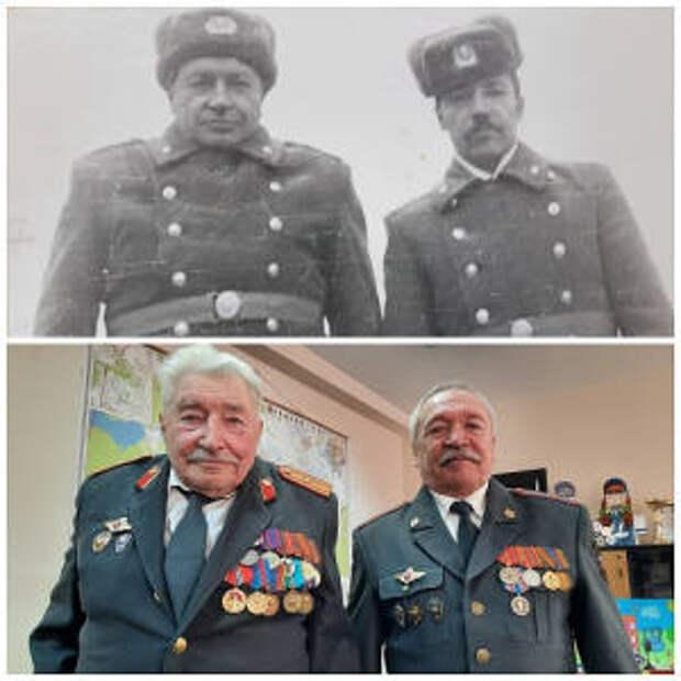 В Нижнетагильском отделе ГИБДД состоялась встреча с ветеранами службы Госавтоинспекции Валентином и Петром Карелиными.