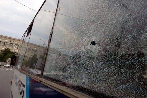В Нижегородской области неизвестный расстрелял рейсовый автобус