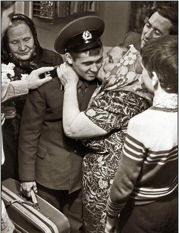 Долгожданная встреча. СССР, история, фото