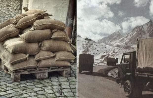 Вот для чего советские солдаты в Афганистане укладывали на дно грузовиков мешки с песком