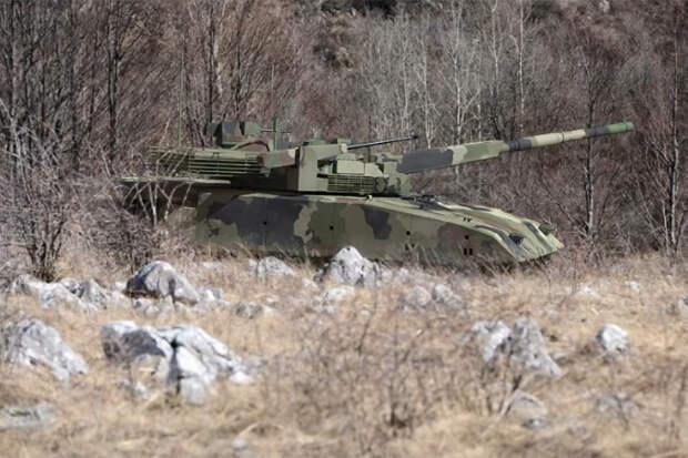 """""""Армата"""" по-сербски: М-20УП1 так и не стал реальным танком"""