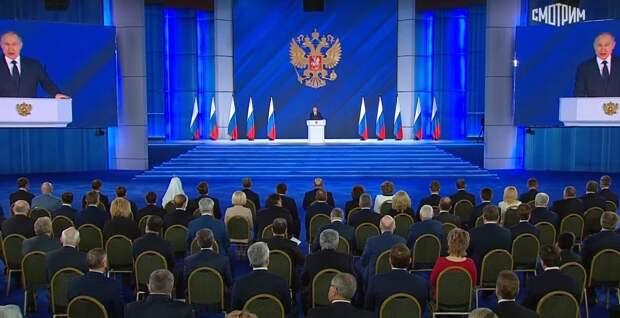 Путин рассказал, о чем пойдет речь в послании Федеральному собранию