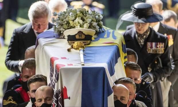 В Лондоне похоронили принца Филиппа.