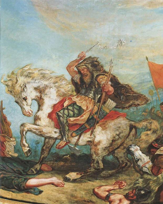 Аттила и Гундахари