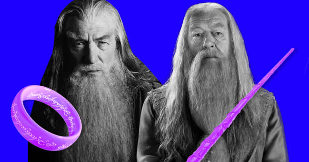 Вы офигеете, когда осознаете, насколько эти 8 героев из «Властелина колец» похожи на героев «Гарри Поттера»