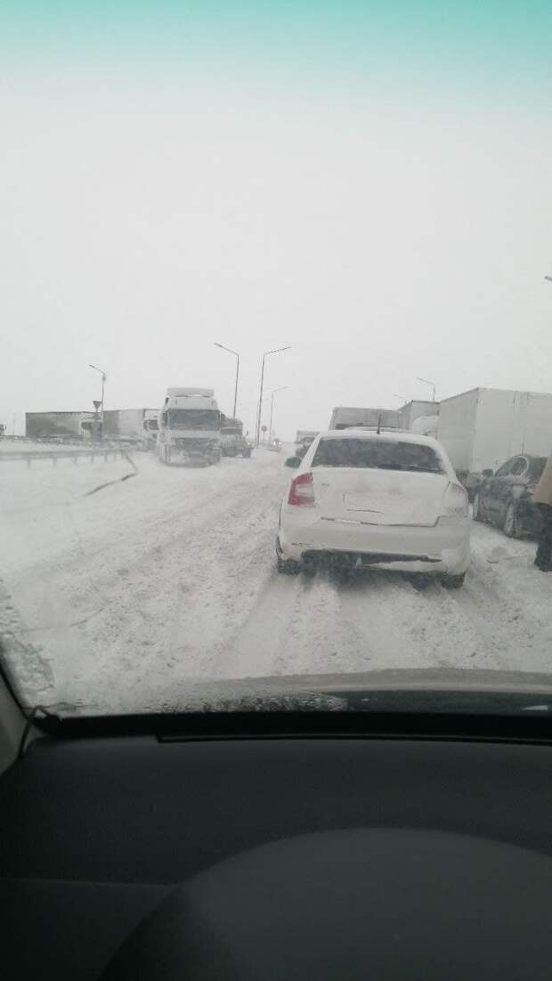 """Трасса """"Таврида"""" и Крымский мост 19 февраля 2021: какая сейчас ситуация на дороге? Фото, видео (обновляется)"""