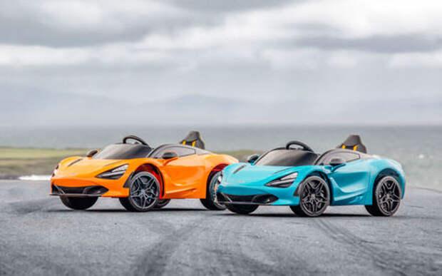 Выпущен электромобиль McLaren за 400$. Почти как настоящий