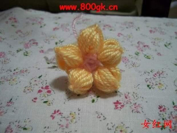 Цветочки крючком для вязания пледов, покрывал, подушек и сидушек (13) (500x375, 109Kb)