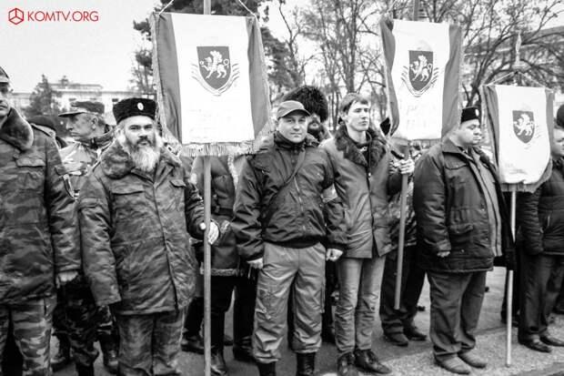В Симферополе отметили годовщину создания Народного ополчения Крыма 5
