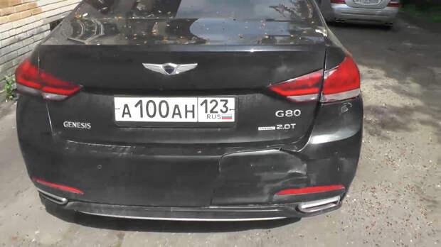 Приключения «Генезиса». Исчезнувший в Купчино автомобиль нашёлся в Москве, но хозяина это не обрадовало