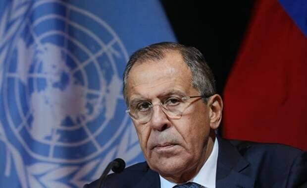Сергей Лавров: Украина ведет войну против собственного народа