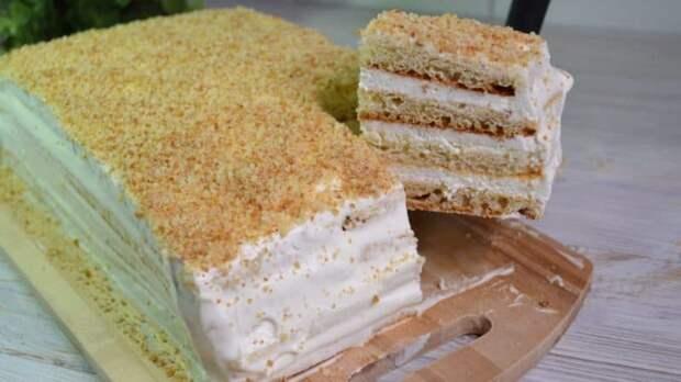 Торт Молочная девочка. Вкуснейшее лакомство, которое легко приготовить