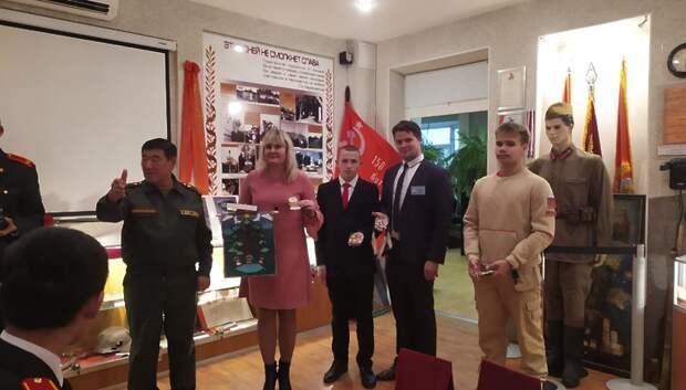 Школьники Якутии подарили хомус и самодельные амулеты гимназии Подольска