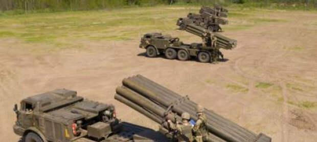 На границе с Крымом Украина развернула РСЗО «Ураган»