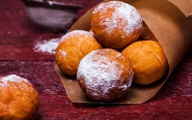 Творожные пончики в сахарной пудре. Дети вам скажут огромное спасибо 2