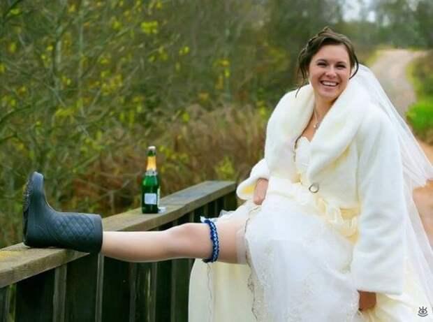Прикольные свадебные торжества 16