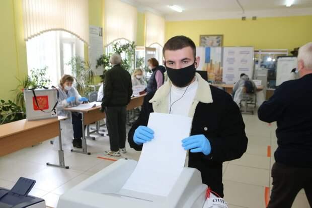 Выборы в ЮВАО. Фото: Ярослав Чингаев