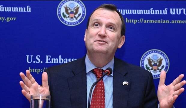 Угрозы посла США Армении выдают майданный сценарий