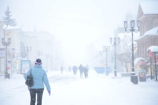 Ледяной дождь ожидается в Нижегородской области