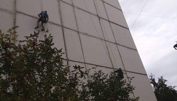 Межпанельные швы отремонтировали в многоквартирном доме в Подольске