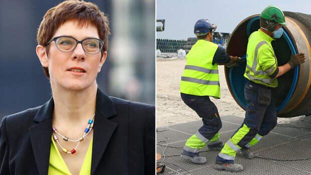 Германия – верный союзник? Протеже Меркель от лица ФРГ заступилась за «Северный поток-2»