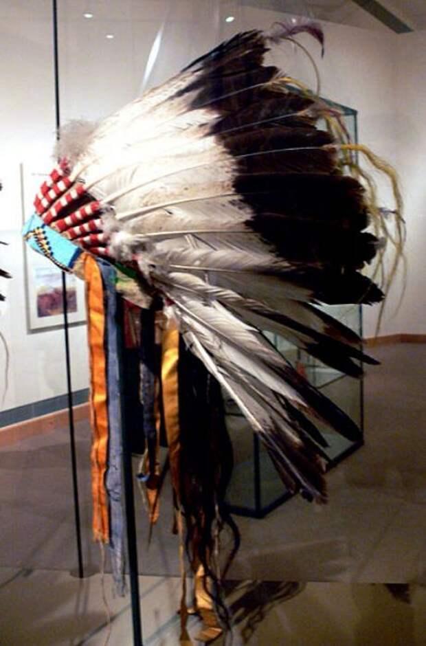 Орлиные перья ценились больше всего. /Фото: wikiрedia.org