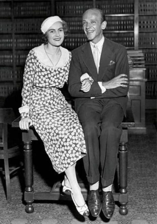 Фред и Филлис в день бракосочетания./Фото www.stylist.co.uk