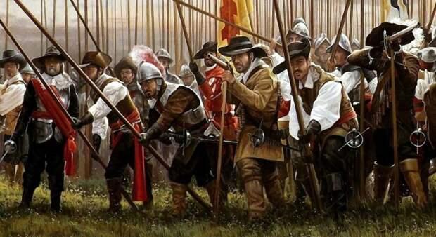 Треуголки появились в ходе Тридцатилетней войны. /Фото: e-news.su.