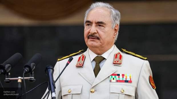 Срез общественного мнения в Ливии выявил, что граждане доверяют Хафтару