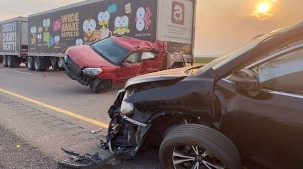 8 человек погибли в авариях с участием 20 автомобилей в Юте