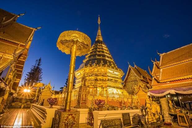 Буддистский храм Ват Пратхат Дой Сутхеп
