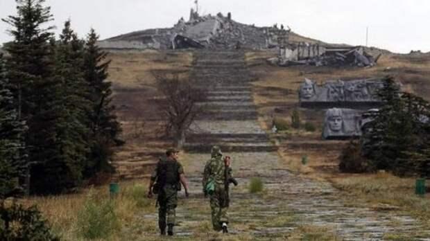 Защитник Саур-Могилы в ЛДНР рассказал журналисту ФАН подробности боя за высоту в 2014 году