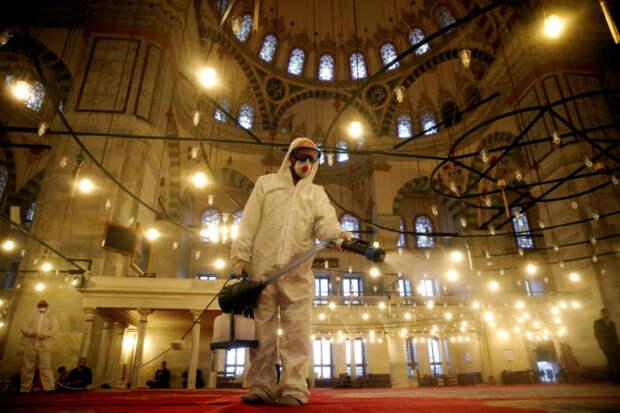 Эрдоган тайно получил третью дозу прививки от COVID-19
