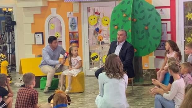 Аксёнов рассказал о судьбе медвежонка, подаренного ему Рамзаном Кадыровым