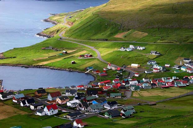 Сказочные деревни Фарерских островов