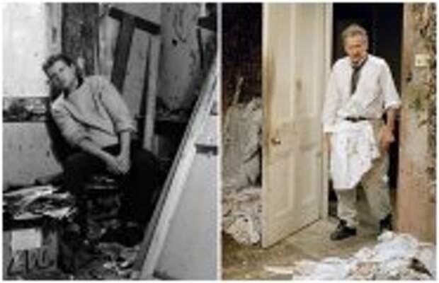 Современное искусство: Чем прославились знаменитые друзья-соперники, которые вместе рисовали и много спорили Люсьен Фрейд и Фрэнсис Бэкон